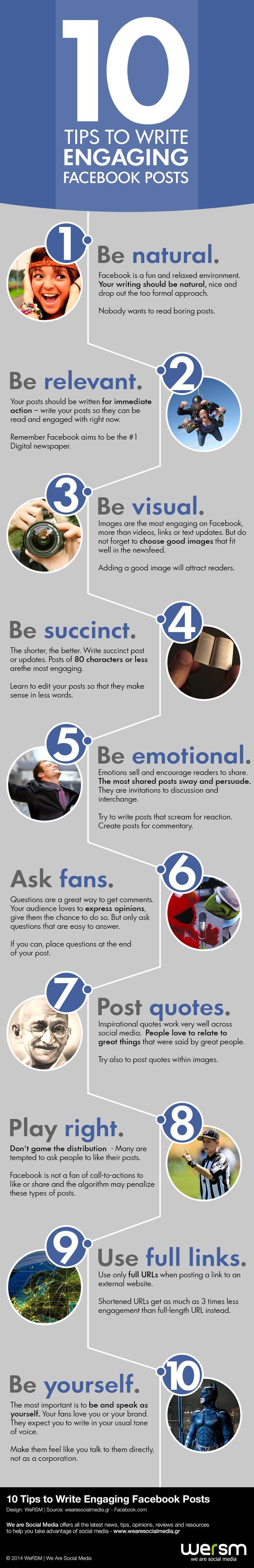 10 conseils pour augmenter les interactions sur Facebook